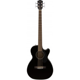 Fender CB-60SCE Bass Black LR Электроакустическая бас-гитара
