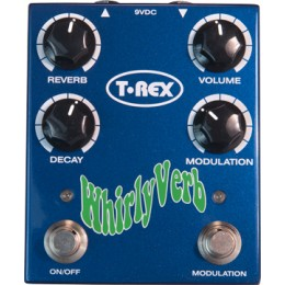 T-Rex Whirly Verb Педаль эффектов Reverb