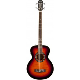 Fender T-BUCKET BASS E 3-COLOR SUNBURST FLAME MAPLE Электроакустическая бас-гитара