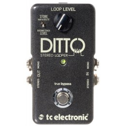 TC electronic DITTO STEREO LOOPER Гитарная педаль