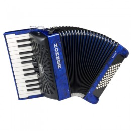 Hohner The New Bravo II 48 (A16541) Dark Blue Аккордеон 1/2