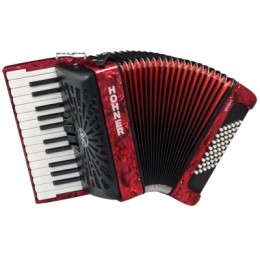 Hohner The New Bravo II 48 (A16531) Red Аккордеон 1/2